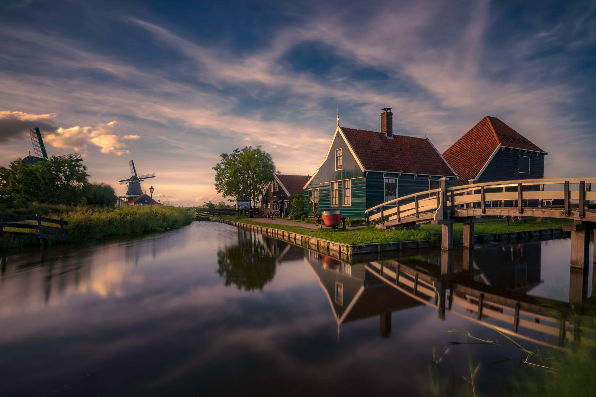Zaanse Schans, Holland.