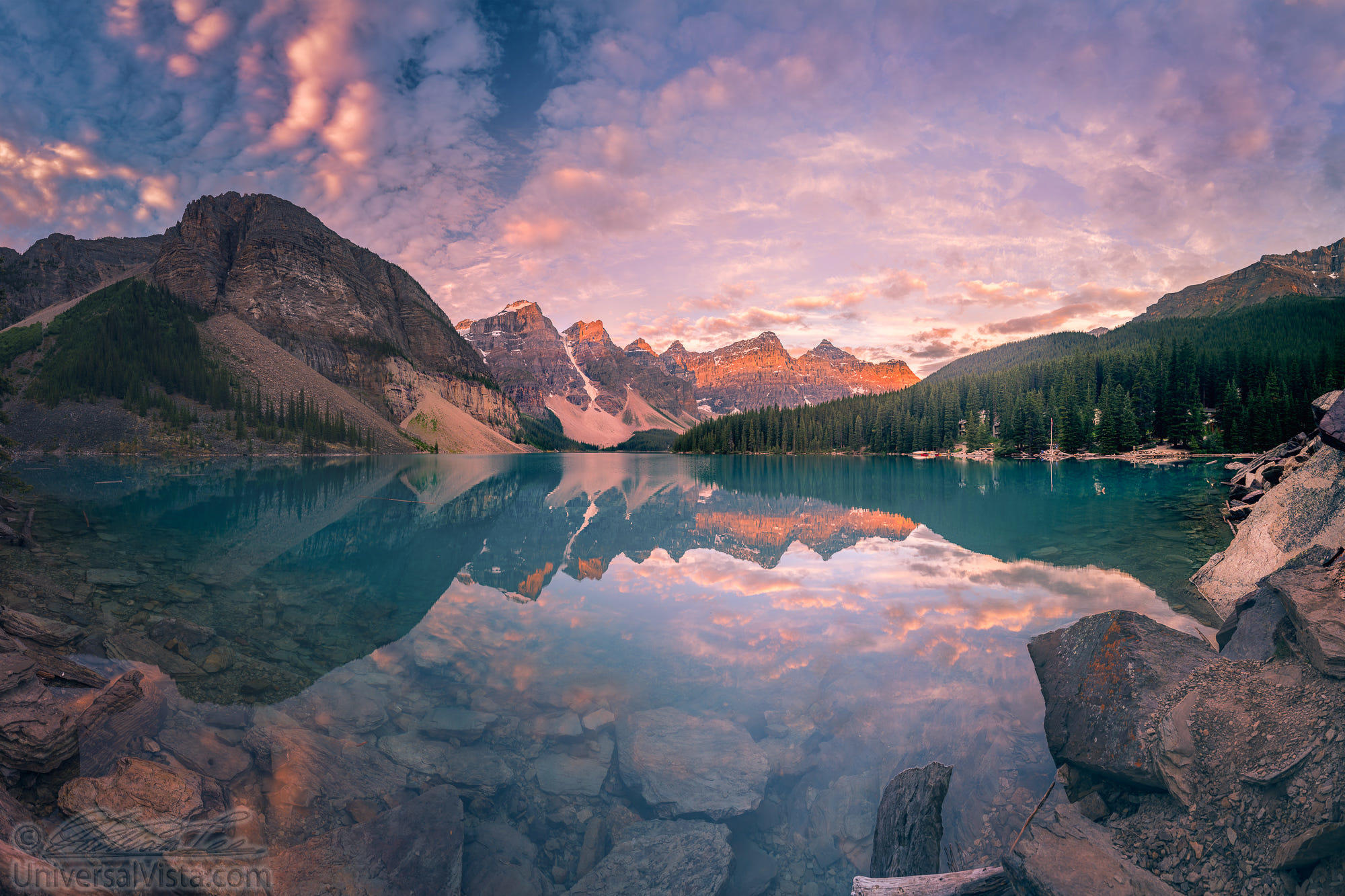 The Sunrise hour at Banff