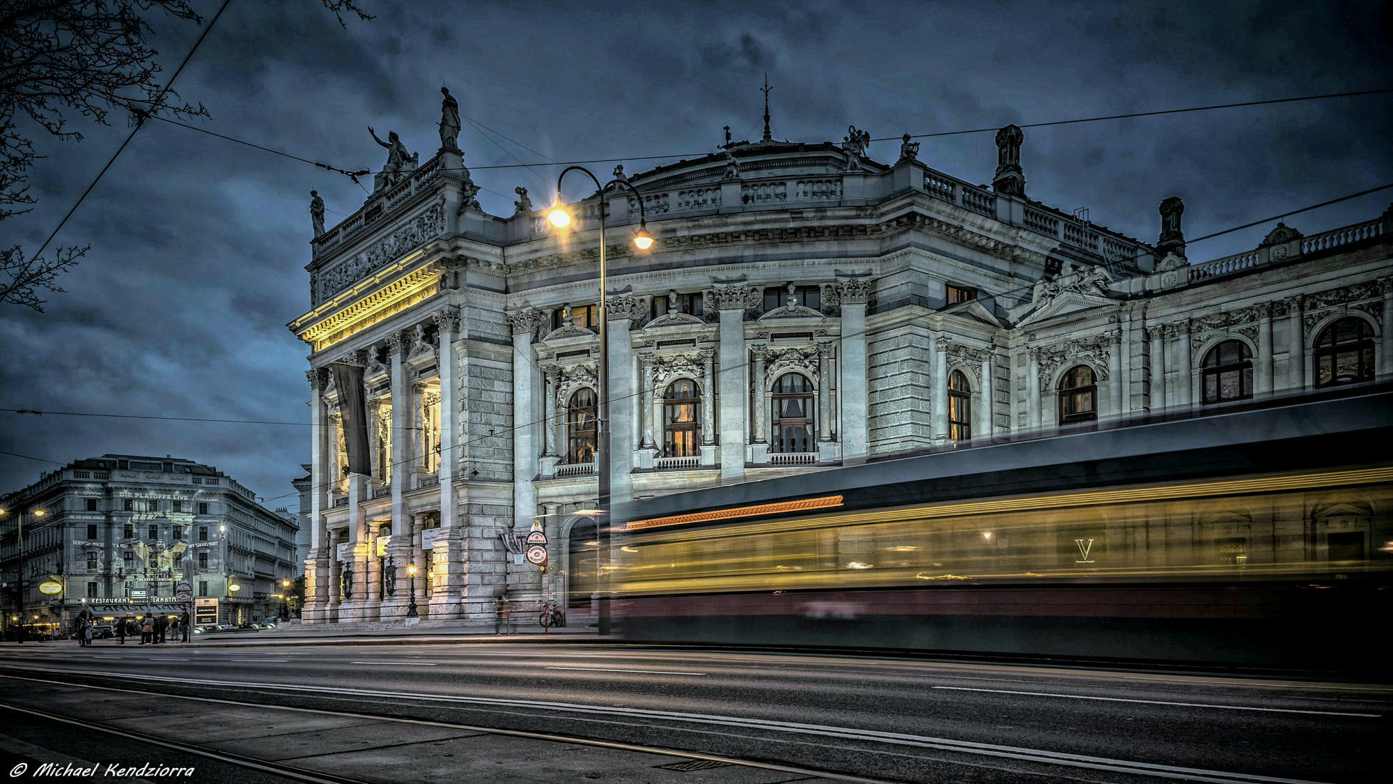 The Tram at the Burgtheater