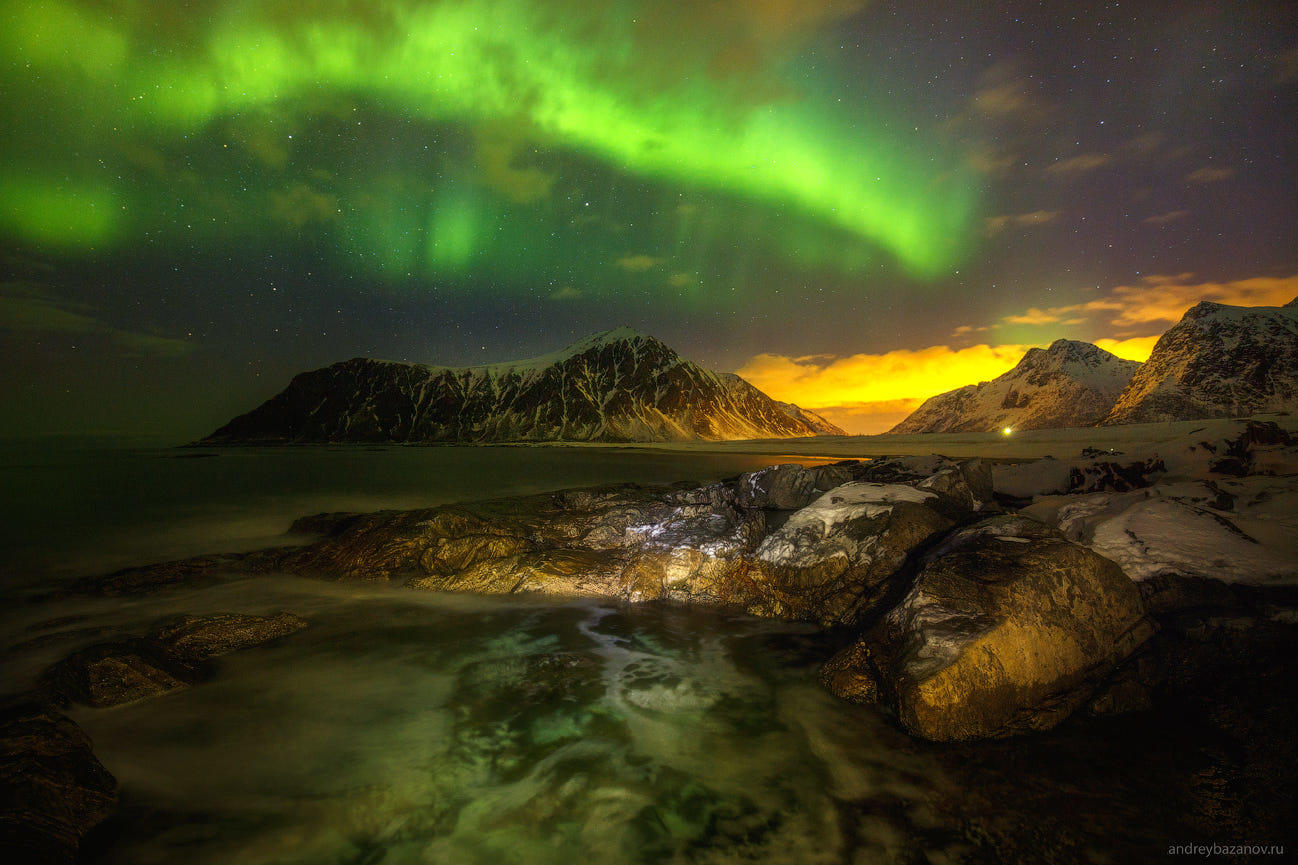 Here is a Northen lights