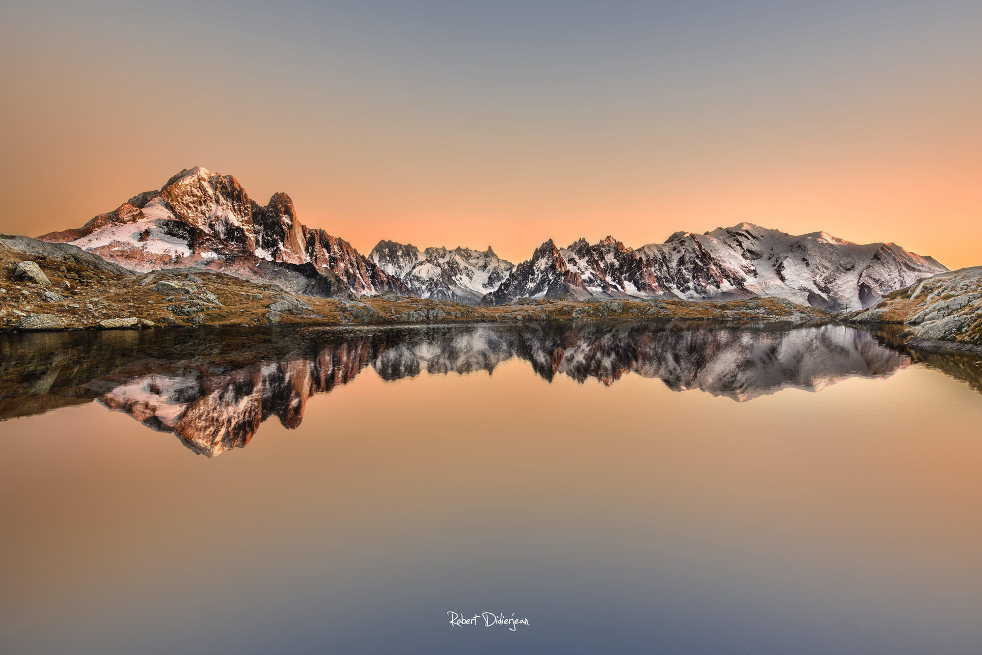 Mont Blanc in reflection