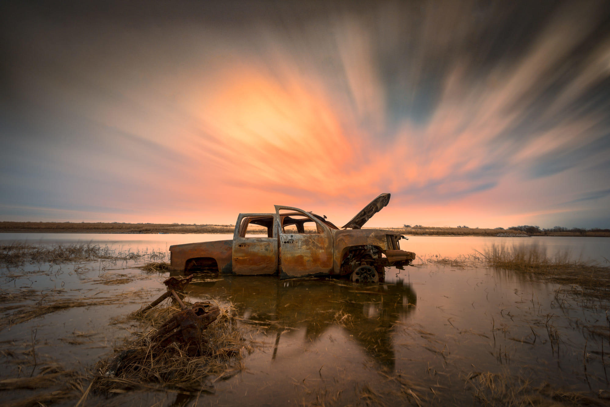 Abandoned Ford F-150