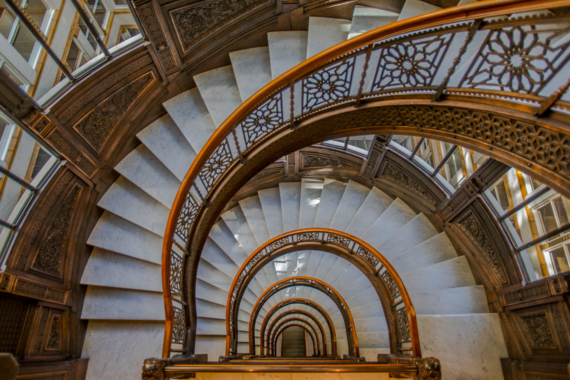 The Rookery Spiral, Chicago